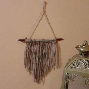 Twine Boho hanging wall decor
